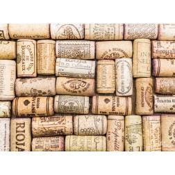Tischset | Platzset - Korkenstapel - aus Papier - 44 x 32 cm