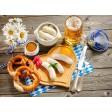Tischset | Platzset - Weißwurstfrühstück (2) - aus Papier - 44 x 32 cm