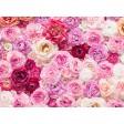 Rosa Rosenmeer - Tischset aus Papier 44 x 32 cm