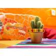 Bunter Kaktus - Tischset aus Papier 44 x 32 cm