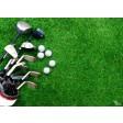 Tischsets | Platzsets - Golfschläger aus Papier - 44 x 32 cm