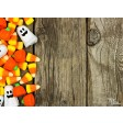 "Tischsets | Platzsets - Halloween ""Gespensterschokolade"" aus Papier - 44 x 32 cm"