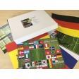 Fußball WM 2018 - das ultimative Spezialset - 36 Tischsets aus Papier 44 x 32 cm - limitierte Auflage