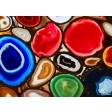 Edelsteine - Tischset aus Papier 44 x 32 cm