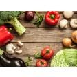 "Tischsets | Platzsets - Food ""Gemüsemix"" aus Papier - 44 x 32 cm"