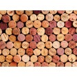 """Tischsets   Platzsets - Wein """"Korkenpyramide"""" aus Papier - 44 x 32 cm"""
