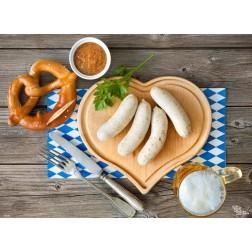 Tischset | Platzset - Weißwurstfrühstück (1) - aus Papier - 44 x 32 cm