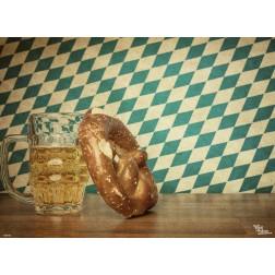 Tischset | Platzset - bayerisch Vintage Style - aus Papier - 44 x 32 cm