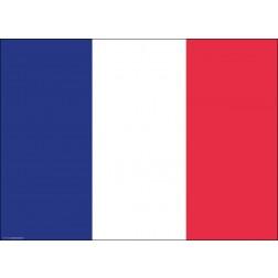 Tischset | Platzset - Frankreich - aus Papier - 44 x 32 cm