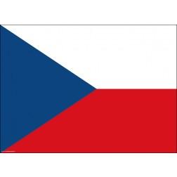 Tischset | Platzset - Tschechische Republik - aus Papier - 44 x 32 cm
