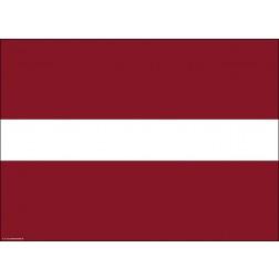 Tischset | Platzset - Lettland - aus Papier - 44 x 32 cm