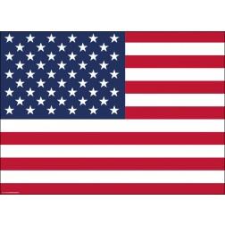 Flagge USA - Tischset aus Papier 44 x 32 cm