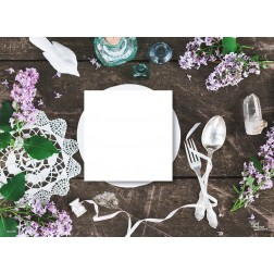 Frühlingsstimmung - Tischset zum Selbstgestalten aus Papier 44 x 32 cm