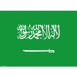 Flagge Saudi-Arabien - Tischset aus Papier 44 x 32 cm