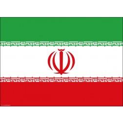 Flagge Iran - Tischset aus Papier 44 x 32 cm