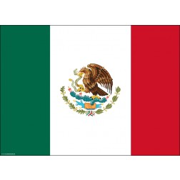 Flagge Mexiko - Tischset aus Papier 44 x 32 cm