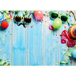Party-Deko mit Sonnenbrillen - Tischset aus Papier 44 x 32 cm