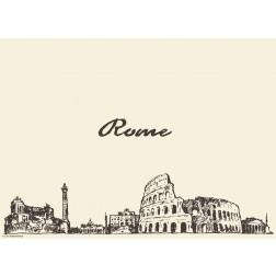 Rom - Tischset aus Papier 44 x 32 cm