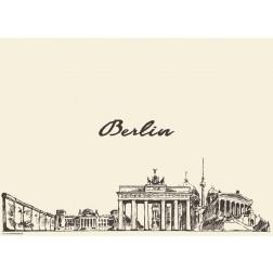 Berlin - Tischset aus Papier 44 x 32 cm