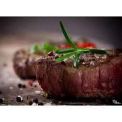 Tischset | Platzset - saftiges Steak - aus Papier - 44 x 32 cm