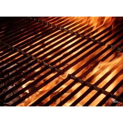 Tischset | Platzset - Grillrost - aus Papier - 44 x 32 cm