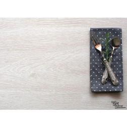 "Tischsets | Platzsets - Food "" Besteck rechts"" aus Papier - 44 x 32 cm"