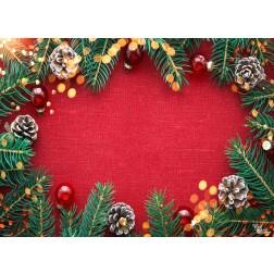 Tischsets | Platzsets - Weihnachtsdekor 3 - aus Papier - 44 x 32 cm