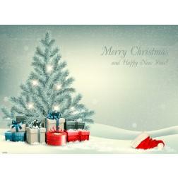 Tischsets | Platzsets - Weihnachtsbaum - aus Papier - 44 x 32 cm