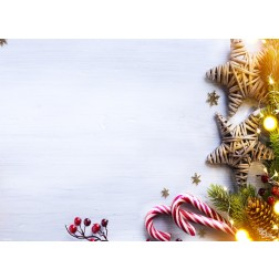 Tischsets | Platzsets - Weihnachtsdekor 2 - aus Papier - 44 x 32 cm