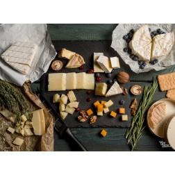 Tischset | Platzset - Leckere Käseplatte - aus Papier - 44 x 32 cm